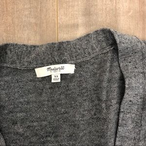 Madewell Sweaters - Madewell long button up cardigan